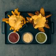 Potato platter  with deep cheese